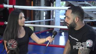 Wilson Peregrina en Samurai Fight Center Con Edna Pulido