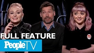 Game Of Thrones: The Cast On Their Favorite Scenes, First Days & More (FULL)   PeopleTV