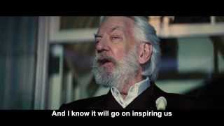 learning english through movies -The Hunger Games scene with subtitle