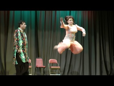 Nida Choudhry s Dance in Jamshed Riaz s HELLO DARLING Comedy Show