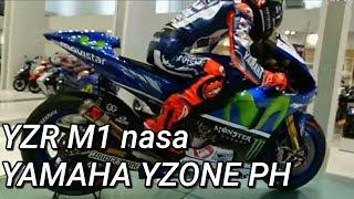 Rider Kikomi Nakita ang YZR M1 at nag ikot sa Y-Zone Philippines  R15 R1 R3 R6 MT07 MT09