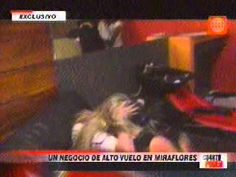 Cuarto Poder Reportaje prostitución Miraflores p2