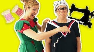 فوزي موزي وتوتي - توتي الخياطة - Tutti the seamstress