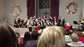 TCS@CBC - Jr. High, Singing the Twelve Days of Regifted Christmas