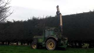 Hedge Cutter at work