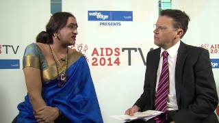 Interview with Laxmi Narayan Tripathi, APNSW Ambassador - AIDS 2014