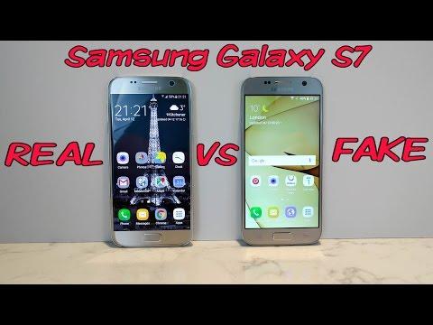 FAKE vs REAL Samsung Galaxy S7 - Don't get fooled into buying fake phones!