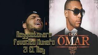 Don Omar El Rey! Reggaetonero Favorito Numero 2!