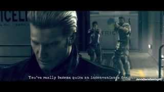 Resident Evil 5 Albert Wesker Cutscene Rematch【HD】