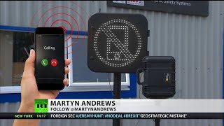 New tech uses bluetooth to detect phones being used at the wheel