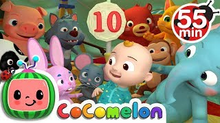 Ten in the Bed | + More Nursery Rhymes & Kids Songs - ABCkidTV