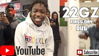 22GZ VLOG & INTERVIEW FIRST DAY OUT SPEAKS ON MIAMI JAIL & MORE