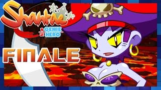 Shantae: Half-Genie Hero - Walkthrough Part 9 Risky's Hideout FINALE Final Boss & BAD ENDING