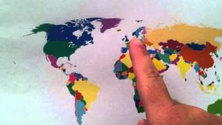Learn the Seven Continents Song for Kids