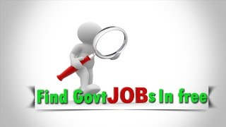 How to Find Govt jobs in free-[in telugu]