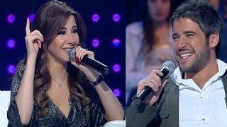 Nancy Ajram with Brother نانسي عجرم دیو مع اخوها نبیل عجرم