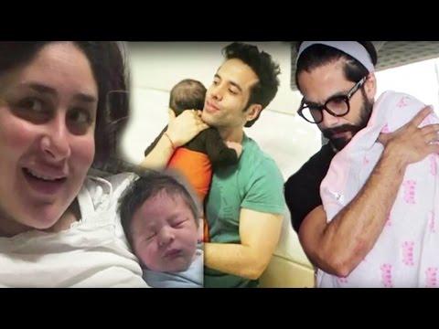 Kareena Kapoor बनी मां तो Shahid Kapoor पापा | 2016 में पेरेंट्स बने ये Bollywood Couples