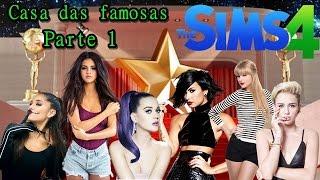 CASA DAS FAMOSAS: O COMEÇO! - The Sims 4 Gameplay