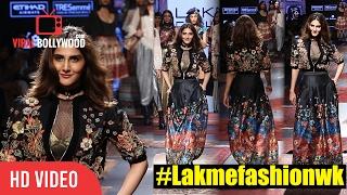 #Befikre Vaani Kapoor Ramp Walk   Lakme Fashion Week Summer Resort Day 03    #Lakmefashionwk