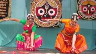 Indický tanec BHARATANATYAM -  Rásabihárí  dásí / Ratha yatra  č.1