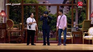 مسرح مصر - أقوي مشهد كوميدي بين حمدي ميرغني ومحمد أنور