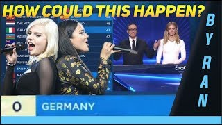 0 Points - How could this happen? (Germany - Sisters - Sister) ESC 2019