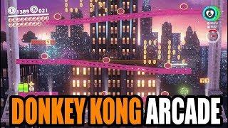 [NS] Super Mario Odyssey - DONKEY KONG ARCADE EASTER EGG (New Donk City Festival)