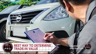 Tip of the Week:  How to Figure Out Your Trade-In Value