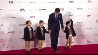 Triplets on Red Carpet @ Busan International Film Festival 2017