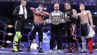 AAA-AJ Styles vs El Mesias-TNA World Heavyweight Championship(FULL MATCH)
