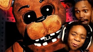 BROS TAG-TEAM FNAF 2!   Five Nights At Freddy's 2 (With My Little Brother!)