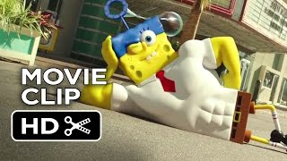 The SpongeBob Movie: Sponge Out of Water Movie CLIP - Cannonball (2015) - Animated Movie HD