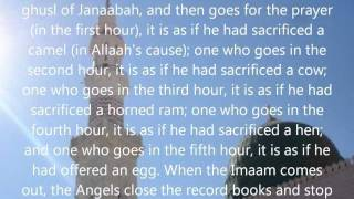 Rulings of Jumu'ah/Friday prayer - Sheikh Saleh al-Luhaydan