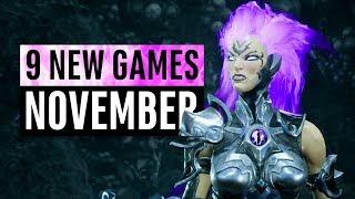 9 New Games Arriving In November 2018