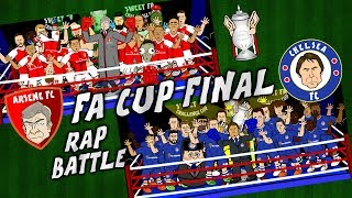 FA CUP FINAL RAP BATTLE! Arsenal vs Chelsea 2017 (Preview Parody)