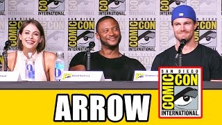 ARROW Comic Con 2016 Panel Highlights (Part 1) - Stephen Amell, Emily Bett Rickards, Season 5