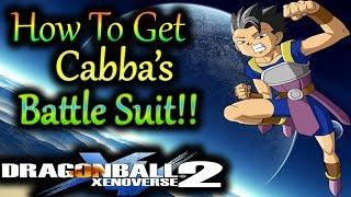 Dragaon Ball Xenoverse 2: How To Get Cabba's battle suit!! - By, Evilerpsartan