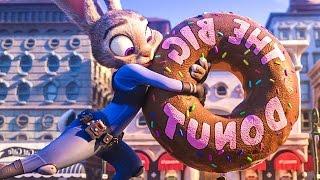 Zootopia ALL Trailer & Clips (2016) Jason Bateman, Shakira Disney Movie HD