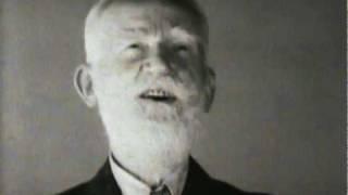George Bernard Shaw talking about capital punishment