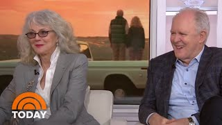 Blythe Danner And John Lithgow Talk 'The Tomorrow Man' | TODAY