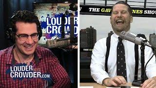 Gavin McInnes Is A Jerk!!    Louder With Crowder