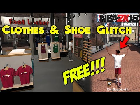 HOW TO GET FREE SHOES & CLOTHES IN NBA 2K18 GLITCH 100% WORKING (NOT CLICKBAIT) KingSuperior