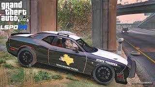 LSPDFR #534 TEXAS DPS PATROL!! (GTA 5 REAL LIFE POLICE PC MOD)