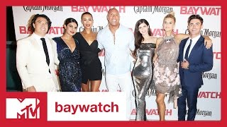 Baywatch LIVE Red Carpet Premiere | MTV