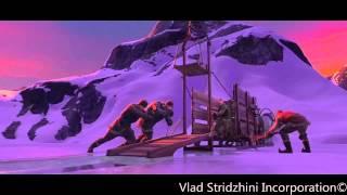 Frozen-Ice Worker