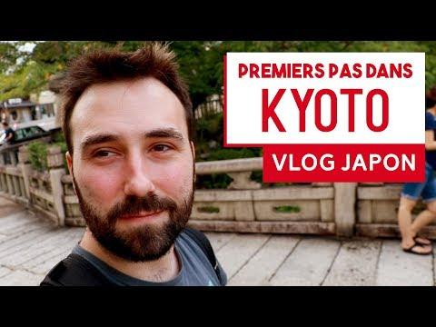 Premiers pas dans KYOTO | VLOG JAPON