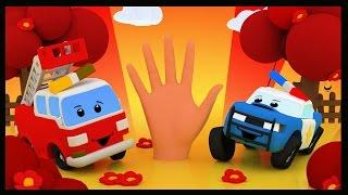 La famille des doigts - Comptines avec les Voitures- Vroum vroum Touni - Finger Family