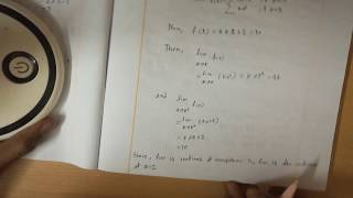 Continous Functions (Calculas Lecture 5) in Bangla