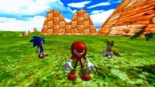 Blitz Sonic Heroes Demo 3: Team Sonic - Seaside Hill [01]