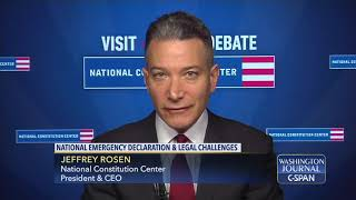 """Word for Word: """"Constitution says nothing about national emergencies"""" (C-SPAN)"""
